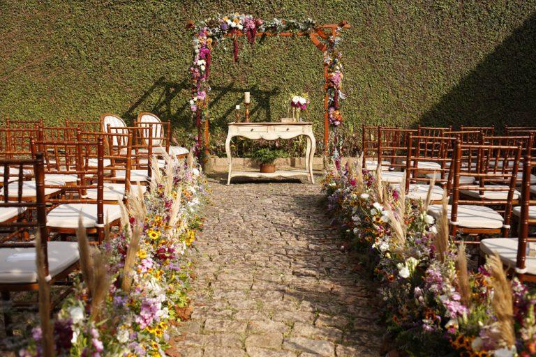 No Jardim Florido de Casa – Casamento Alana e Fernando