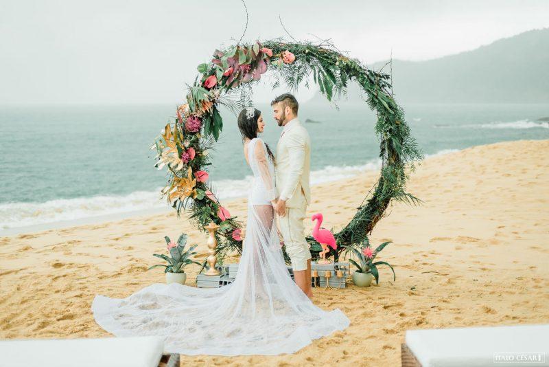 """Inspiração para casamentos tropicais – Editorial """"Miame"""""""