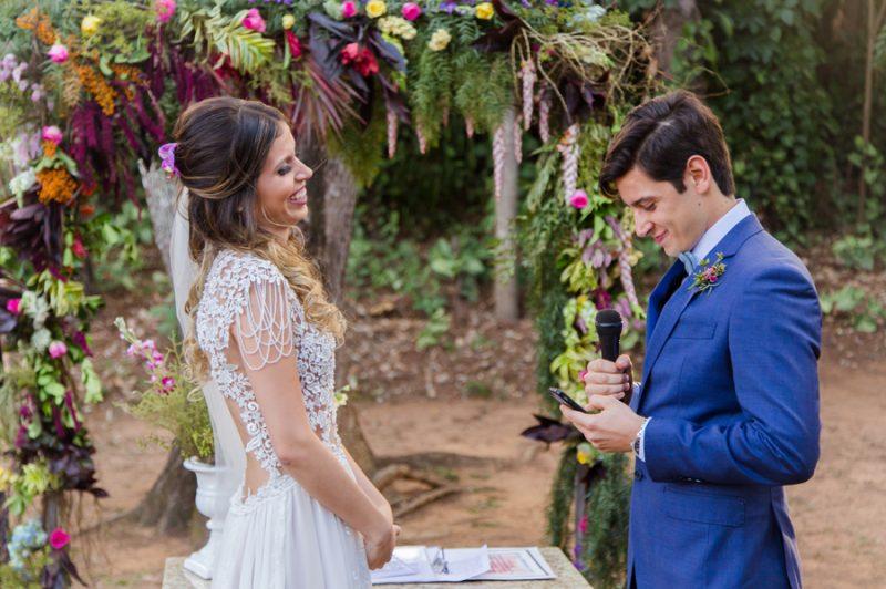 Casamento Boho Campestre Colorido – Tawana e Nicolas