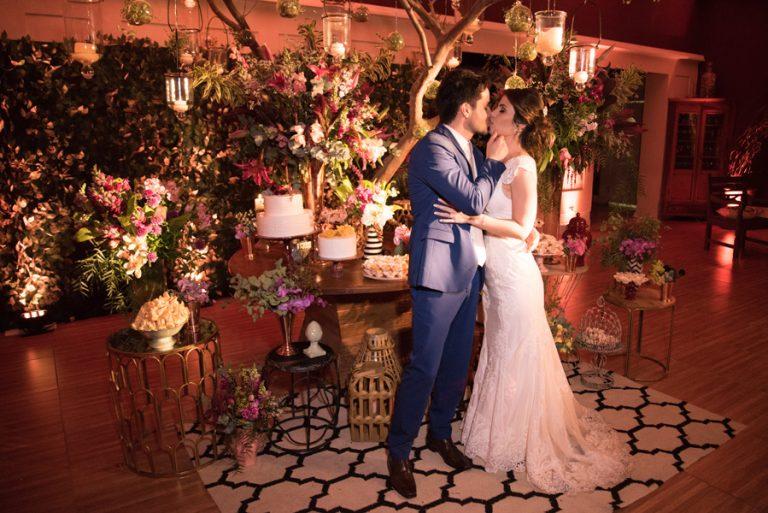 Casamento Romântico em Atibaia – Amanda e Fabio