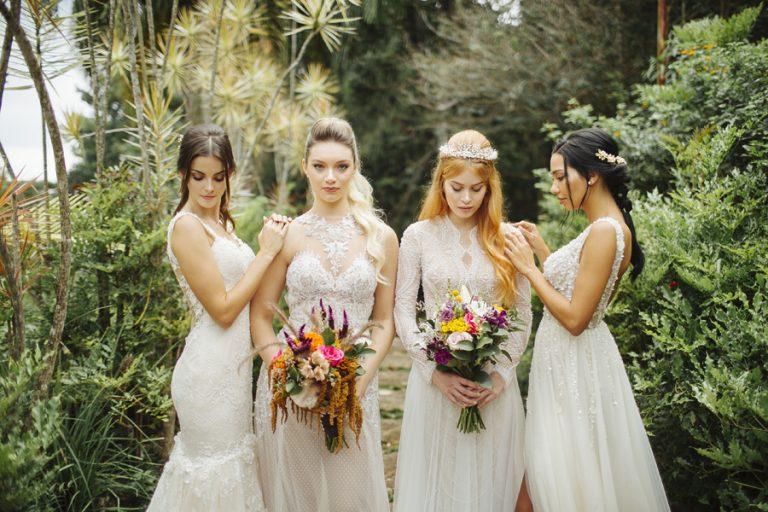 Coleção Garden Spell – Vestidos de noiva encantados pra sonhar!