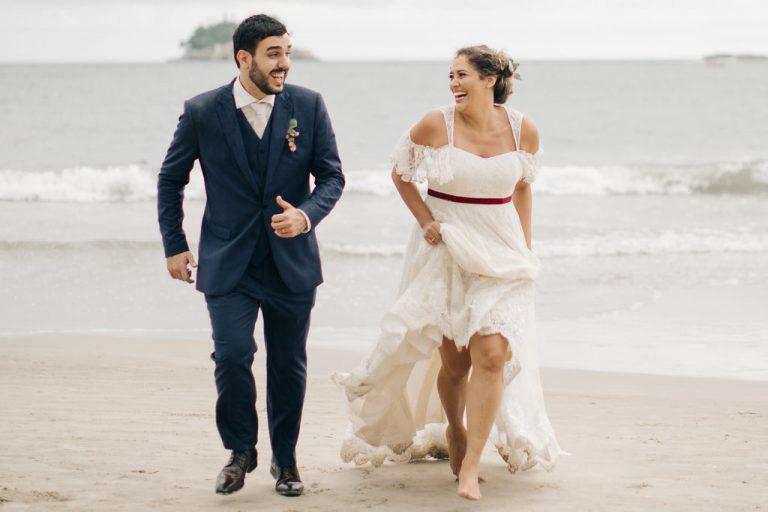 Cor e Leveza no Guarujá – Samira e Marcel