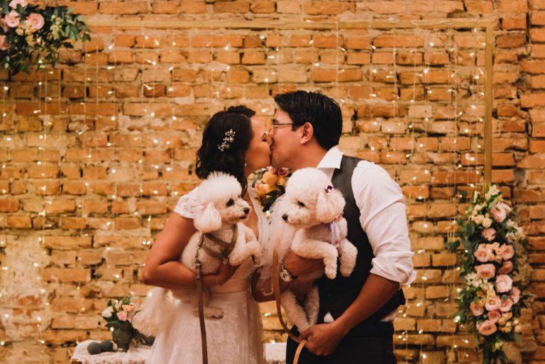 Mini Wedding Rústico e Romântico no Tiella – Thaís & Fábio