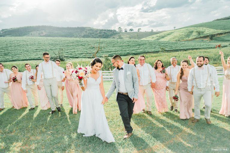 Casamento iluminado em Atibaia – Vallkyria & Bruno