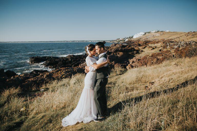 Cenário paradisíaco em elopement no Uruguai – Abril & João Pedro