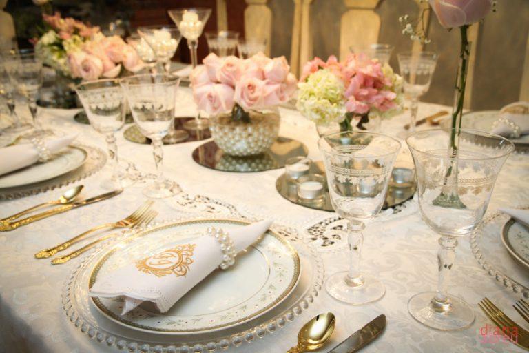 {Dicas Úteis} A importância da mesa posta na decoração de casamento
