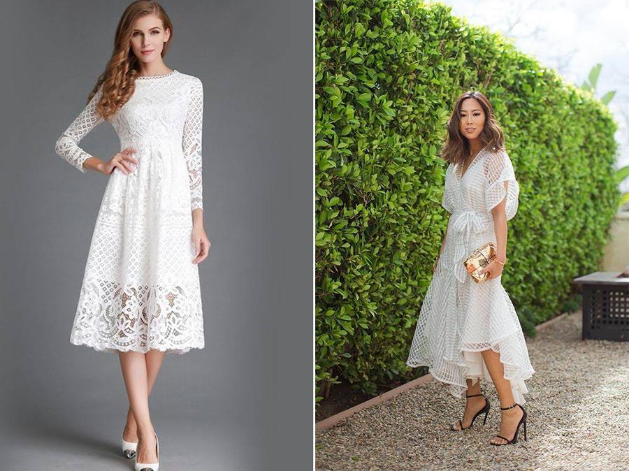 d9261c9ce Vestido para casamento civil  + de 50 modelos para escolher o seu (2019)