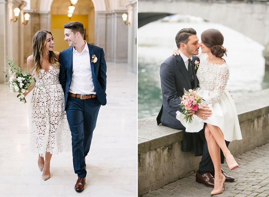 Vestido para casamento de dia no civil