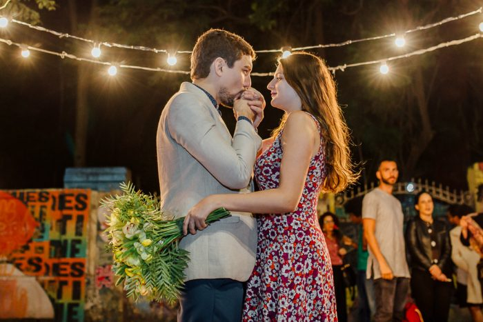 Pedido de Casamento Surpresa na Av. Paulista – Bruna & Alfredo
