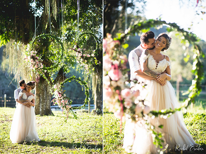 Elopement dos sonhos no campo – Michelle & André