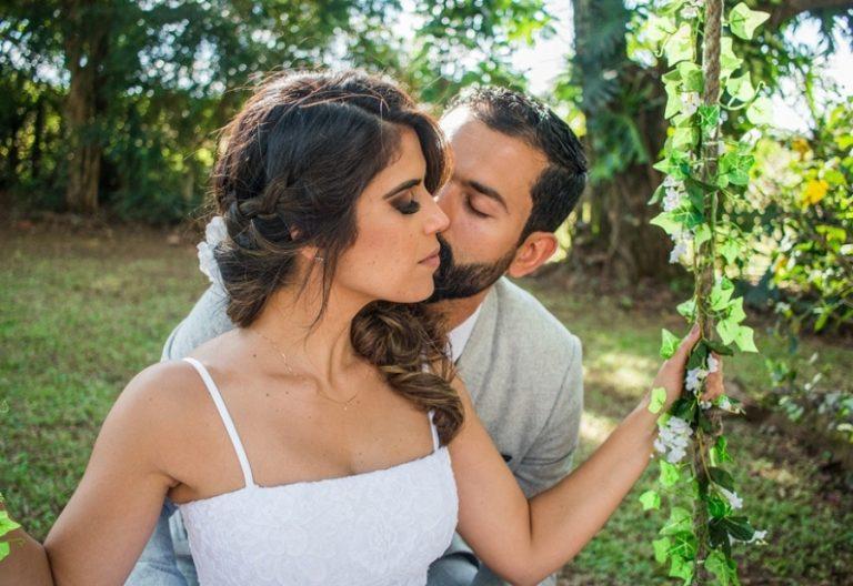 Manhã intimista e romântica no sitio – Joany & Marco