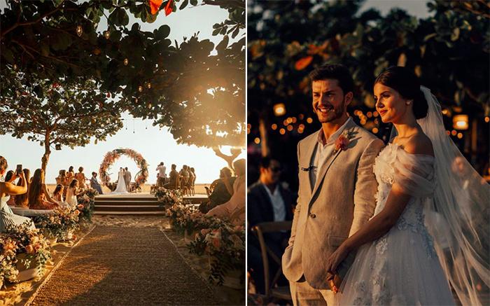 Enlace romântico e delicado na praia de Jericoacoara – Camila Queiroz & Klébber Toledo