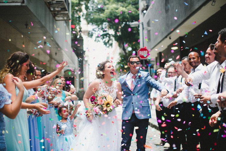 Mini Wedding descontraído e cheio de amor no Rio de Janeiro – Alinie & Fabio
