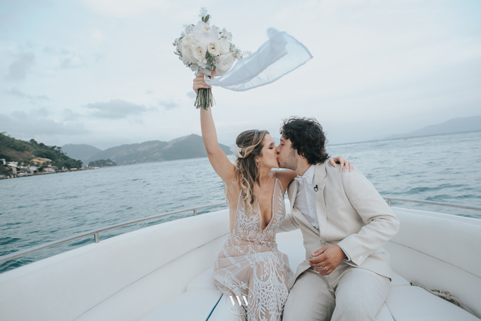 Destination Wedding à beira mar em Angra dos Reis – Lorena & Alisson