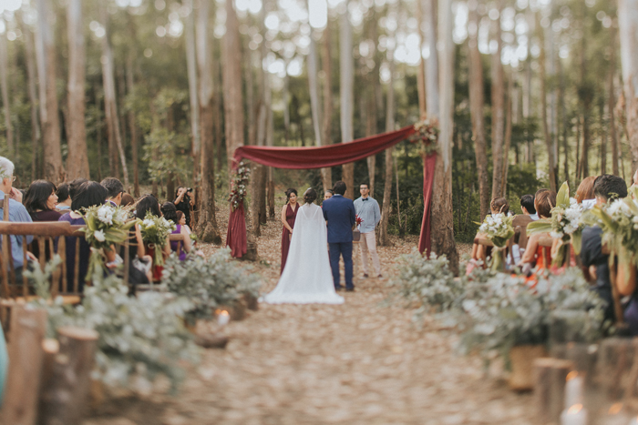 Forest Wedding angelical na serra – Gabi & Edu