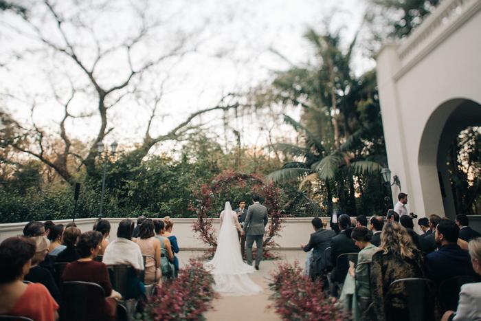 Mini Wedding elegante e ao ar livre em São Paulo – Ligia & Caio
