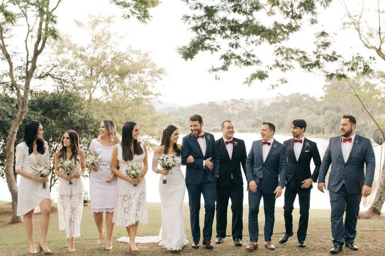 Tons neutros em Farm Wedding à beira do lago – Ana Sofia & Caio