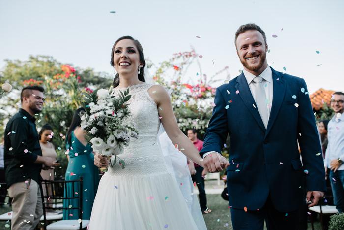 Mini Wedding rústico ao ar livre – Isys & Wanderson