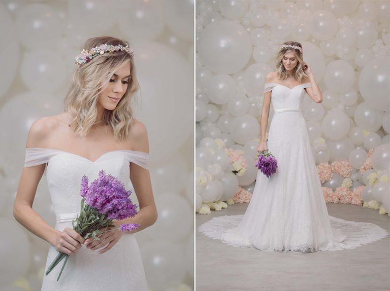 Coleção Liberté – Vestidos da passarela para noivas reais
