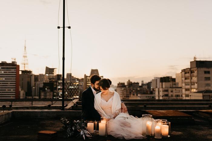 decoração de casamento na cidade