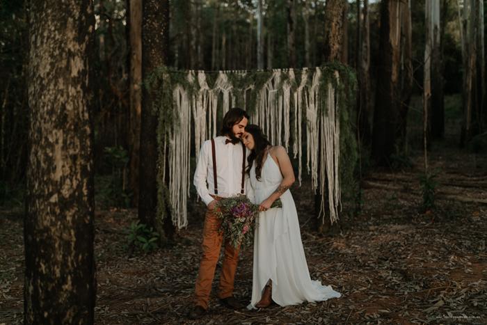 Elopement cheio de emoção na floresta de Poços de Caldas – Taty & Gabriel
