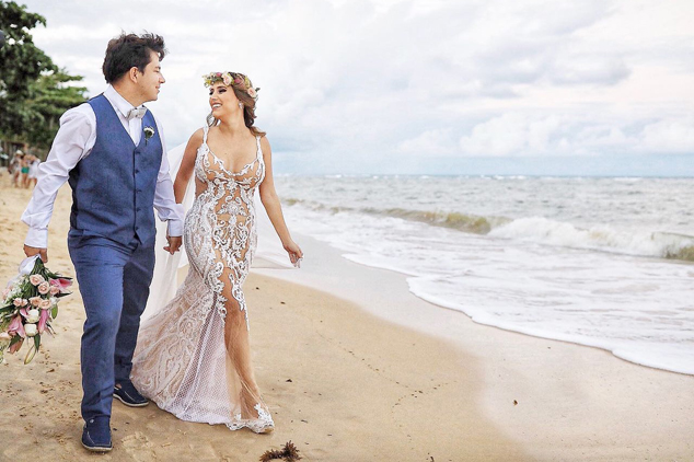 Casamento leve e descontraído em Arraial d'Ajuda – Brunna & Geraldo