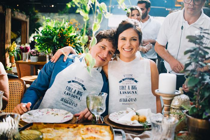 Almoço italiano divertido em Morungaba – Giuliana & Felipe