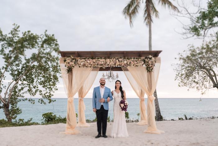 Destination Wedding à beira mar na República Dominicana – Isabela & Lucas