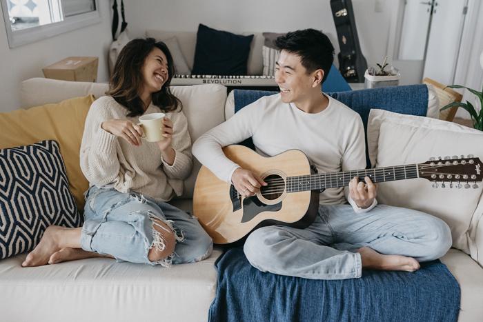 {Dicas de Fotografia} Como fazer um ensaio em casa – Paula & Paulo