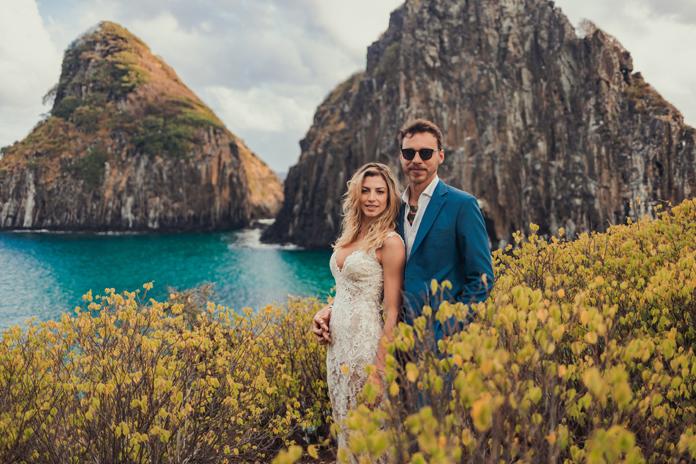 Destination Wedding alegre na capelinha de Fernando de Noronha – Lina & Gui