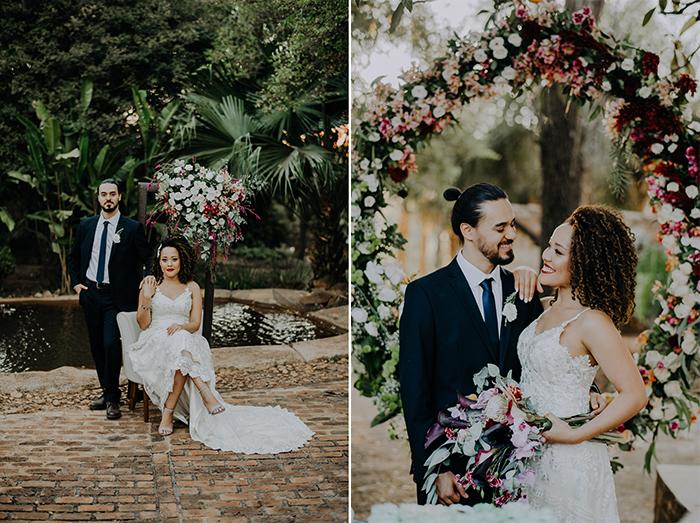 Casamento Boho chic em tons de marsala e rosa em Minas Gerais – Lorrayne & Gustavo