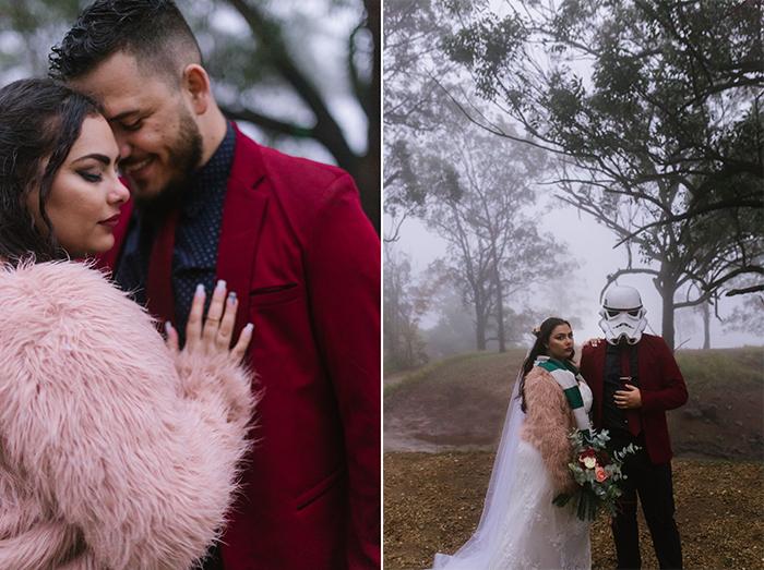Mini wedding DIY num jardim ecológico perto do Rio de Janeiro – Kamila & Felipe