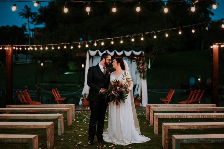 Casamento intimista Boho chic em Santa Catarina – Andressa & Adriano
