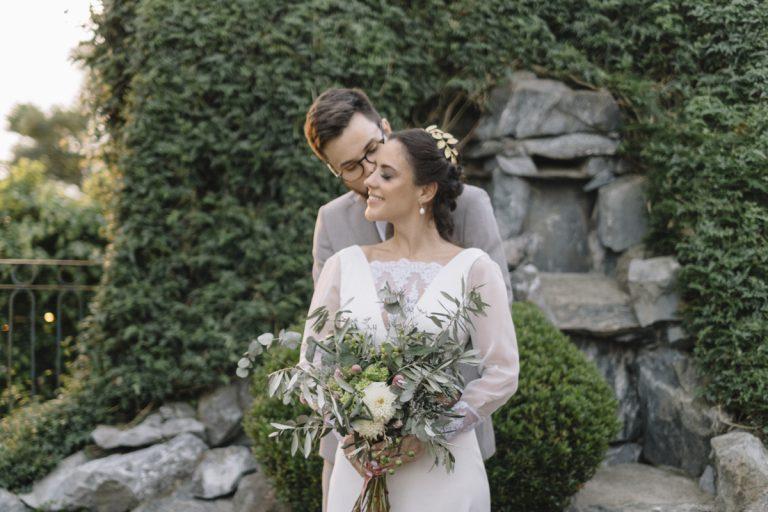 Mini wedding tranquilo numa tarde ensolarada em Curitiba – Raissa & Victor