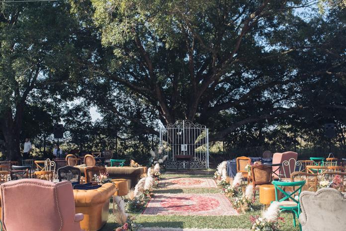 Uma grande sala de estar ao ar livre – Rafa & Samu