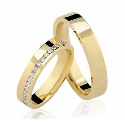 alianças-de-casamento-quadrada-de-ouro-