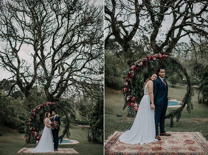 First Look e casamento autêntico em Ibiúna- Giovanna e Amine