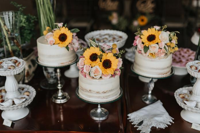 Casamento com girassol e muito romantismo Lápis de Noiva -> Decoração De Girassol Para Aniversario
