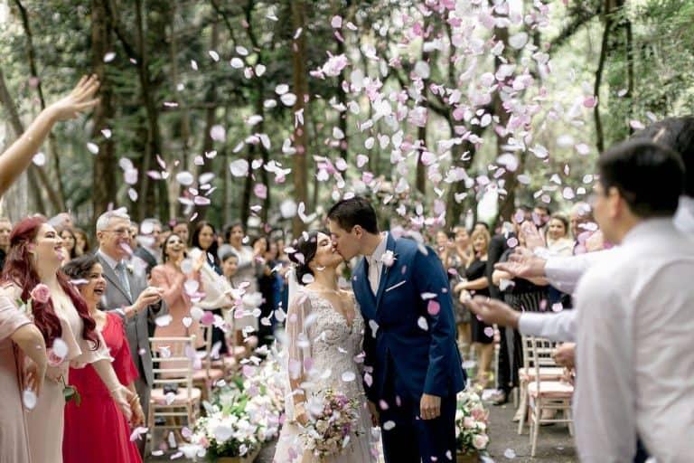 casamento romantico no jardim