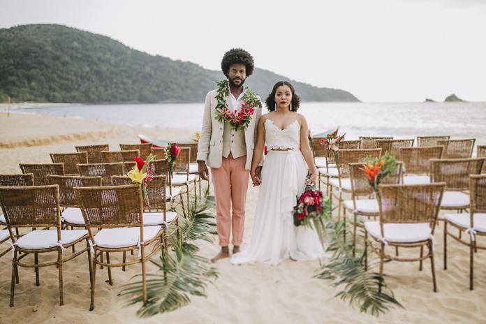 casamento na praia no verão