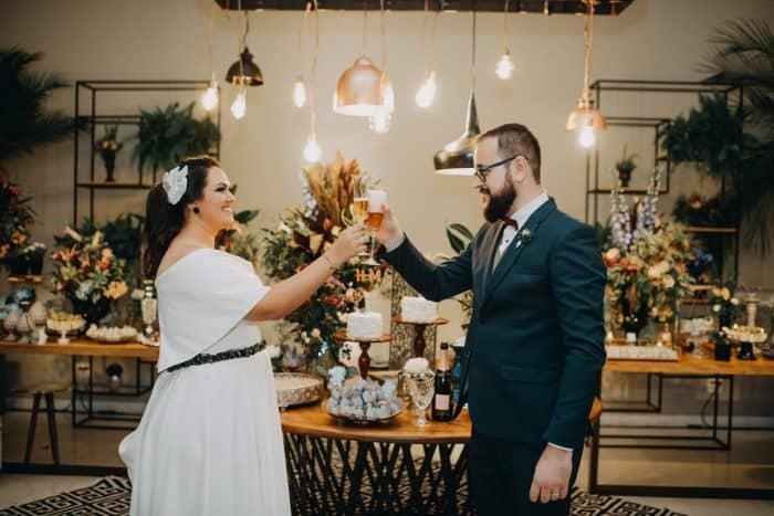 Um casamento urban chic autêntico e animado em Santa Bárbara D'oeste – Hellen & Marco
