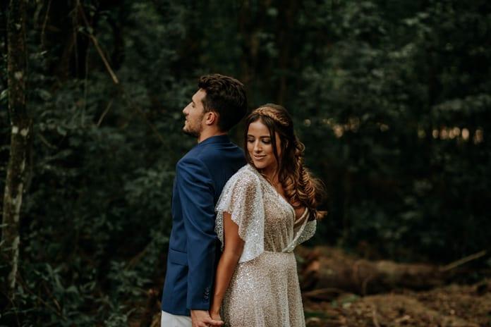 {Editorial Warna Hati} Cores e coração para casamentos ao ar livre