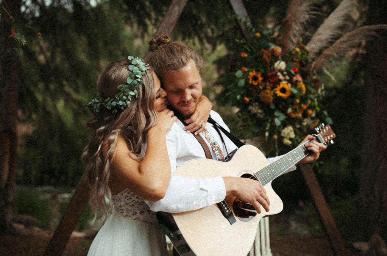 música para casamento no campo