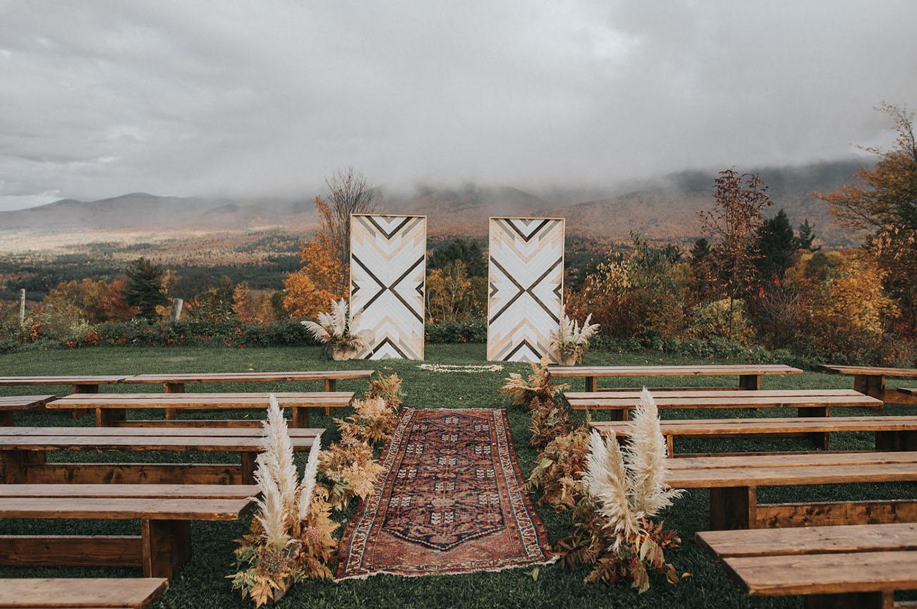 onde casar no campo