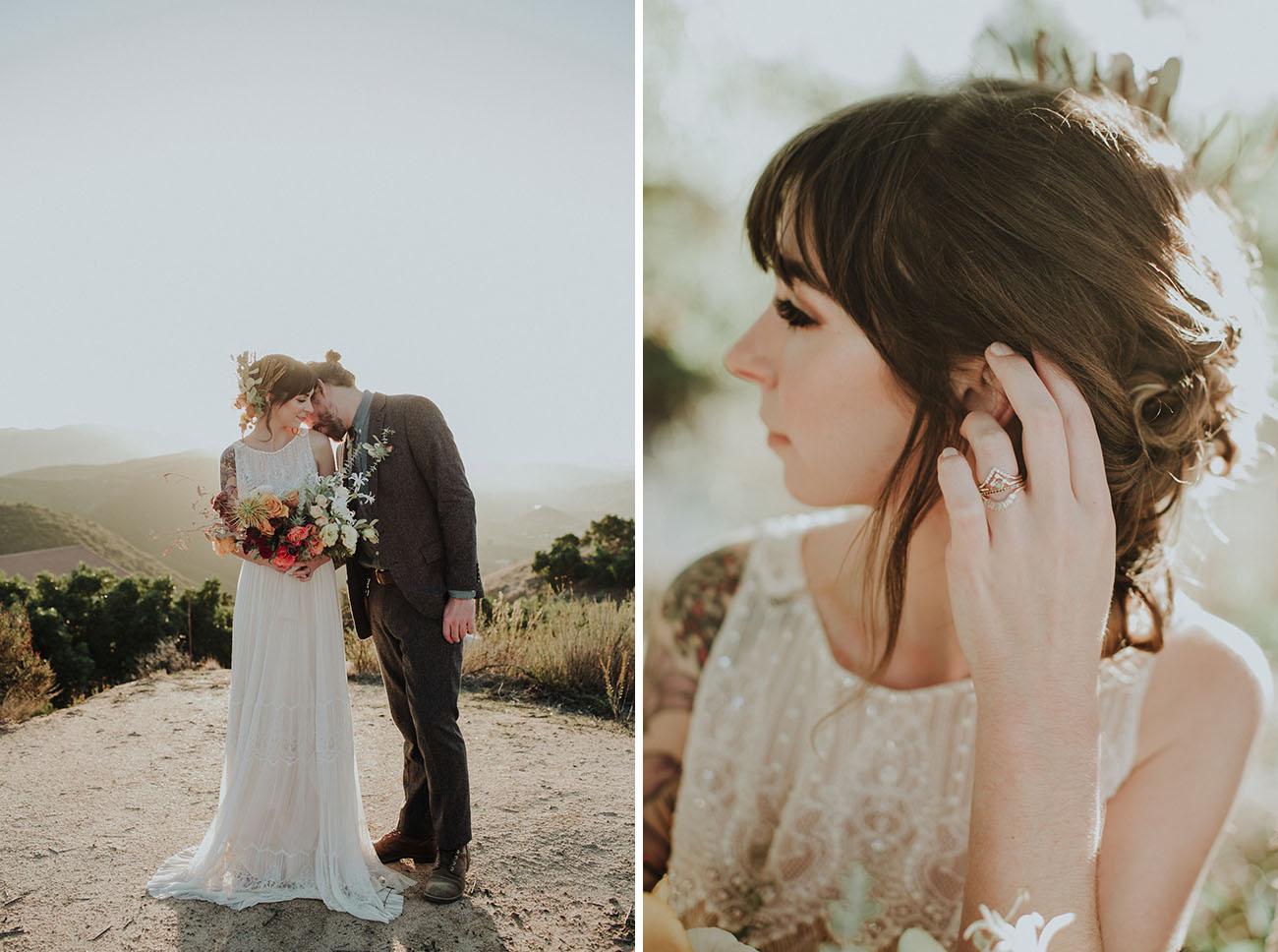 penteado para casamento no campo
