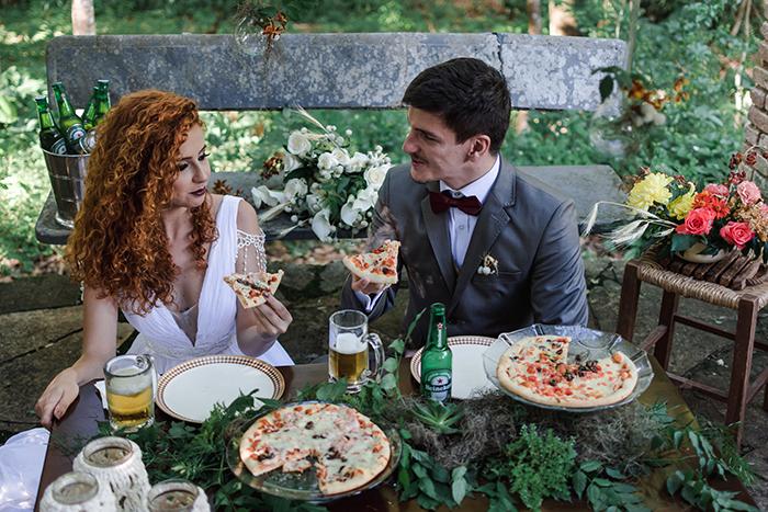 {Editorial Vale dos Angicos} Um sonho de mini wedding intimista com toques rústicos e muito amor
