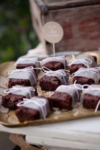 brownie como lembrancinhas de casamento