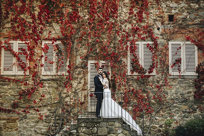 casamento a dois na toscana