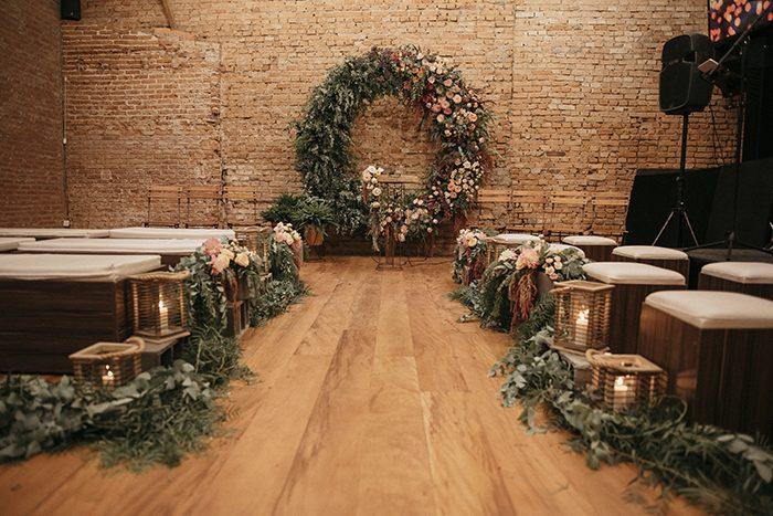 casamento industrial no Tiella Eventos