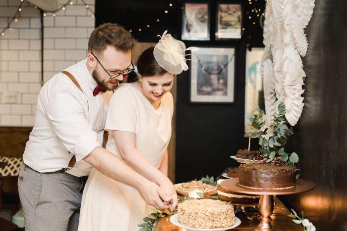 casamento vintage no resturante